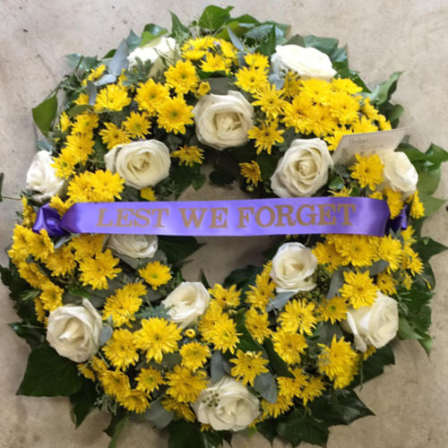 Fabulous Flowers Tribute Wreath